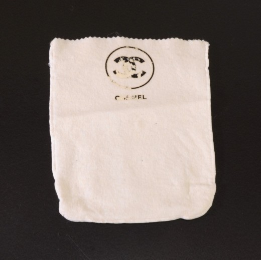 1d265a5beee4 Chanel Vintage Chanel White Dust Bag for Small Bags
