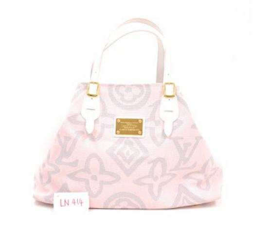 Louis Vuitton Louis Vuitton Pink Canvas Inventeur Tote Hand Bag