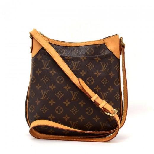 5379011c17ac Louis Vuitton Louis Vuitton Odeon PM Monogram Canvas Shoulder Bag