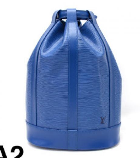 fefcded0559f Louis Vuitton 2 Louis Vuitton Randonnee GM Blue Epi Leather Shoulder ...