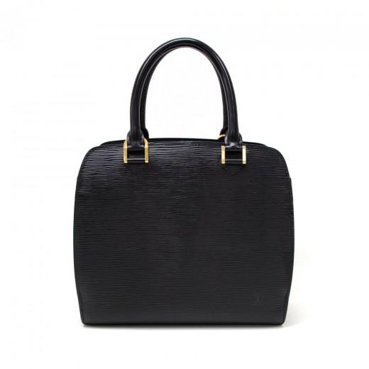 cfa121d61841 Louis Vuitton Louis Vuitton Pont Neuf Black Epi Leather Hand Bag