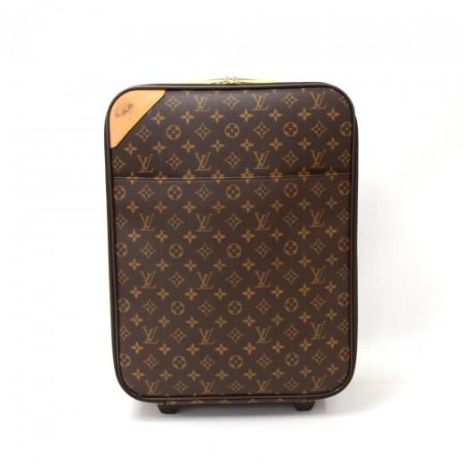 4569db618 Louis Vuitton Louis Vuitton Pegase 45 Monogram Canvas Travel Rolling ...