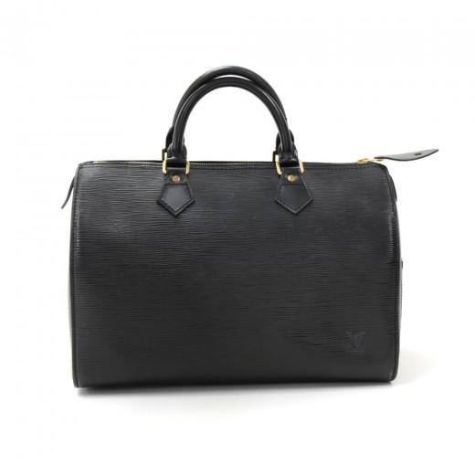 0534ecc16f22 Louis Vuitton Vintage Louis Vuitton Speedy 30 Black Epi Leather City ...
