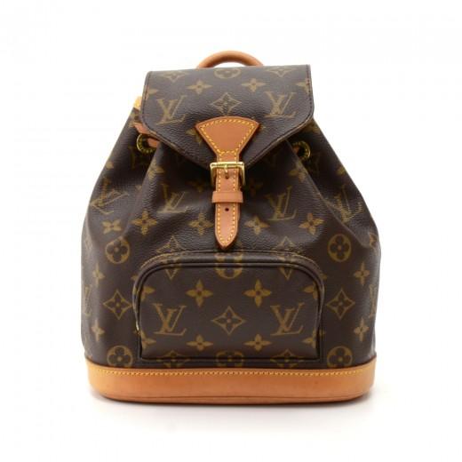 acf54dafb7da Louis Vuitton Vintage Louis Vuitton Mini Montsouris Monogram Canvas ...