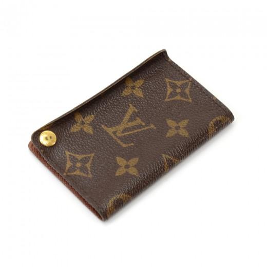 27f3f315fe3 Louis Vuitton Louis Vuitton Porte-cartes credit pression Monogram ...