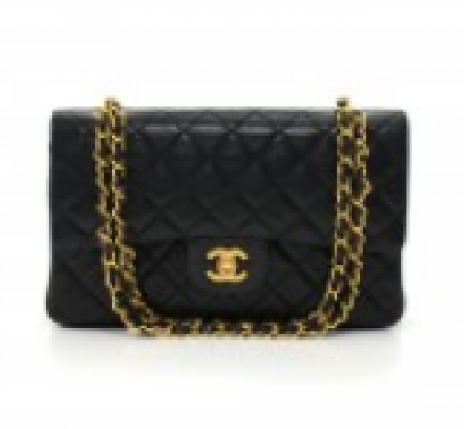 adb876de5cc5 Chanel 14 Chanel 2.55 10inch Double Flap Black Quilted Leather ...