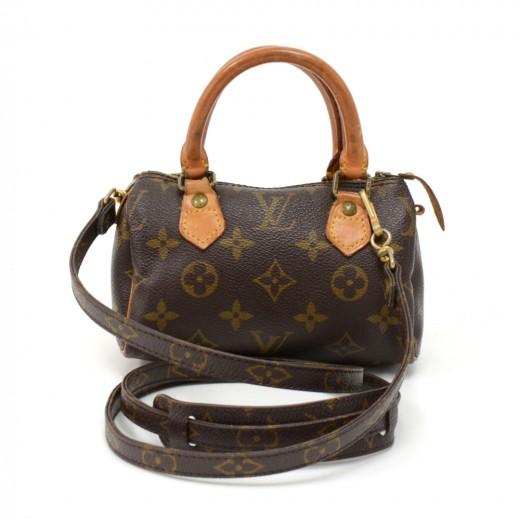 db4fddf3e31 Louis Vuitton Vintage Louis Vuitton Mini Speedy Sac HL Monogram ...