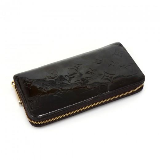 Louis Vuitton Louis Vuitton Zippy Wallet Purple Amarante Vernis ... aa97ac47fce
