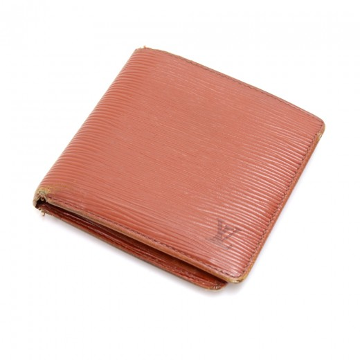 115f8d1432c4 Vintage Louis Vuitton Portefeiulle Marco Kenyan Fawn Epi Leather Bifold  Wallet. Condition  Good