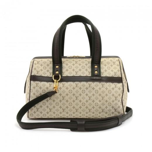 Louis Vuitton Josephine Gm Khaki Mini Monogram Canvas Hand Bag pF6DG