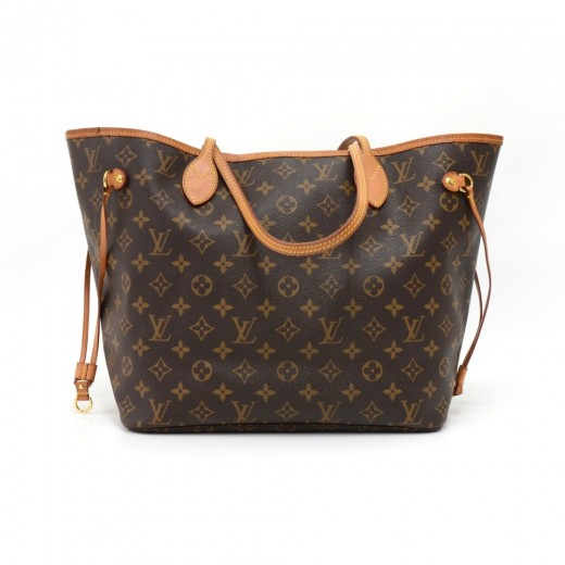 a1e3dc5e92a98 Louis Vuitton Louis Vuitton Neverfull MM Monogram Canvas Shoulder ...