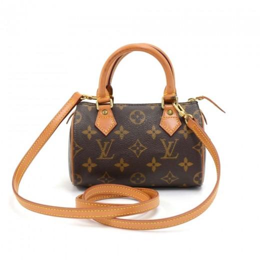 b6657c5bace7 Louis Vuitton Vintage Louis Vuitton Mini Speedy Sac HL Monogram ...