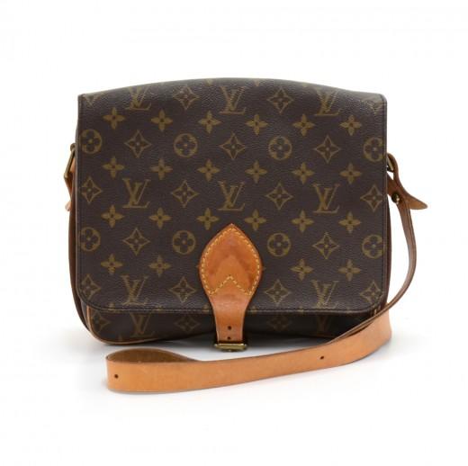 0a0f1fb21282 Louis Vuitton Vintage Louis Vuitton Cartouchiere MM Monogram Canvas ...