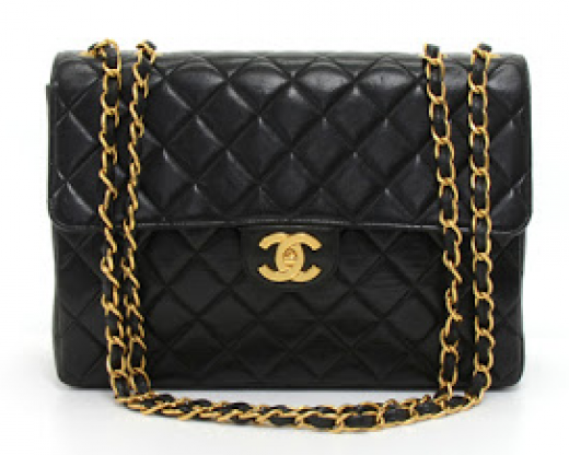 a485afc36a1d Chanel H9 Chanel 12inch Jumbo Black Quilted Leather Shoulder Flap Bag