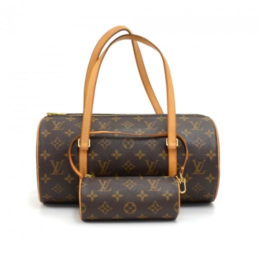 Louis Vuitton Louis Vuitton Papillon 30 Monogram Canvas Hand Bag + ... c37bdc69743f6