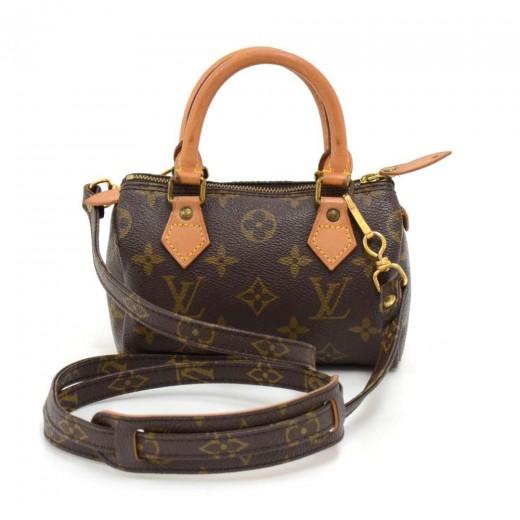 3fb64b44ff50 Vintage Louis Vuitton Mini Speedy Sac HL Monogram Canvas Hand Bag + Strap.  Condition  Great