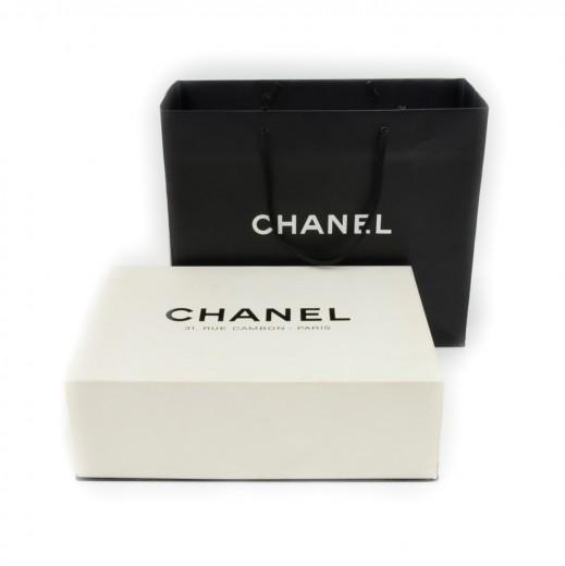 107229be511e Chanel Chanel White Box + Paper bag + Ribbon Set for Medium Flap Bags