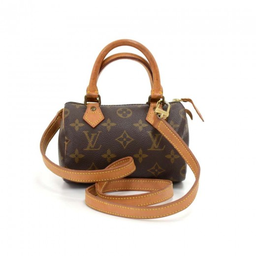 82e12eaa27e2f Louis Vuitton Vintage Louis Vuitton Mini Speedy Sac HL Monogram ...