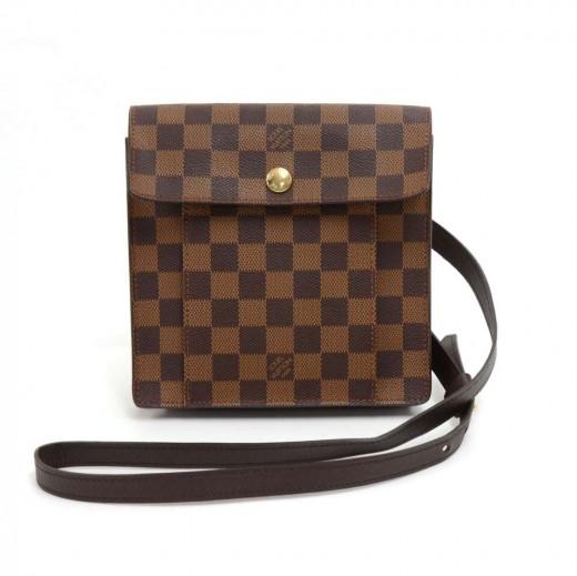 7cd4cab4ca43 Louis Vuitton Louis Vuitton Pimlico Ebene Damier Canvas Crossbody Bag