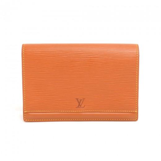 3bfd47e2 Louis Vuitton Vintage Louis Vuitton Ceinture Tilsitt Brown Epi ...