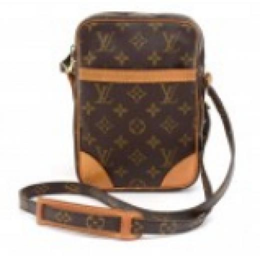 5f02fb42d7b7 Louis Vuitton Louis Vuitton Danube Monogram Canvas Crossbody Bag