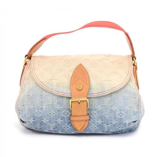 6e9b2377998a Louis Vuitton Louis Vuitton Sunshine Blue Ombre Monogram Denim ...
