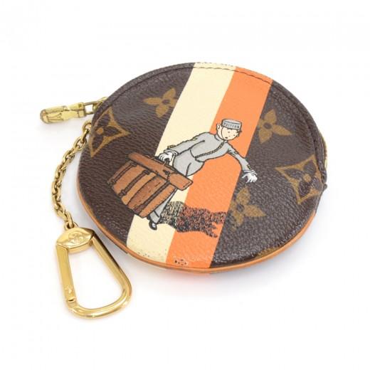 febdcdb5464 Louis Vuitton Louis Vuitton Porte Monnaie Monogram Groom Canvas ...
