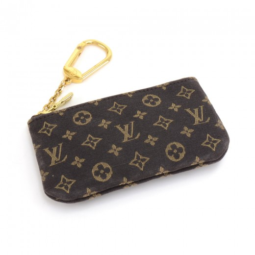 b89942aa8fe Louis Vuitton Louis Vuitton Pochette Cles Ebene Damier Mini Monogram ...