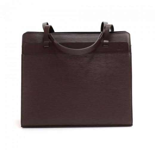 ae3445a1de9a Louis Vuitton Louis Vuitton Croisette PM Brown Epi Leather Hand Bag