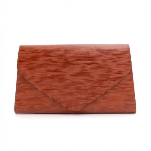 5a99d7d06168 Louis Vuitton Vintage Louis Vuitton Art Deco PM Brown Epi Leather ...