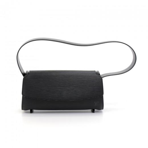 a338b7c6 Louis Vuitton Louis Vuitton Nocturne PM Black Epi Leather Shoulder ...