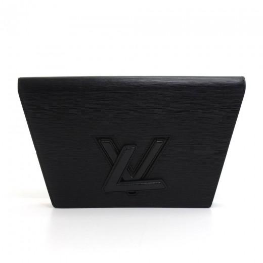 63b3cebfaf9d Louis Vuitton Vintage Louis Vuitton Trapeze GM Black Epi Leather ...