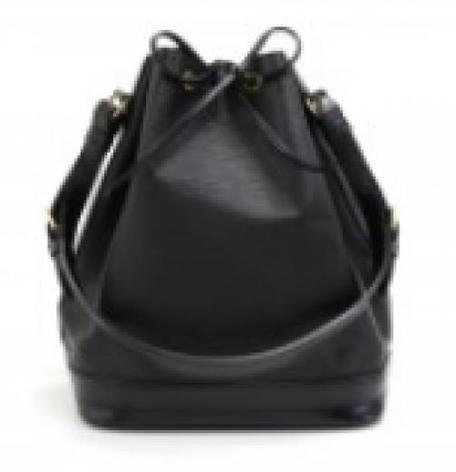 baffbd06e2a8 Louis Vuitton Louis Vuitton Noe Large Black Epi Leather Shoulder Bag
