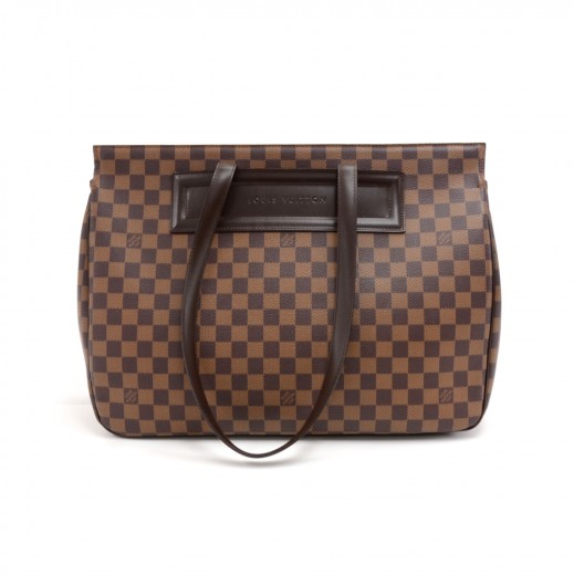 Louis Vuitton Louis Vuitton Parioli GM Ebene Damier Canvas Large ... a783a4178d439