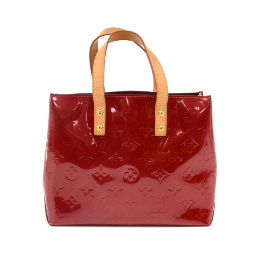 1fdfe94d4 Louis Vuitton Louis Vuitton Reade PM Red Vernis Leather PM Hand Bag