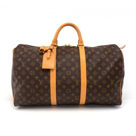 f7b48a809e7d Louis Vuitton Vintage Louis Vuitton Keepall 50 Monogram Canvas ...