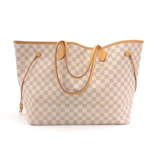 Louis Vuitton Louis Vuitton Neverfull GM Damier Azur Canvas Shoulder ... ae05eab00e1a3