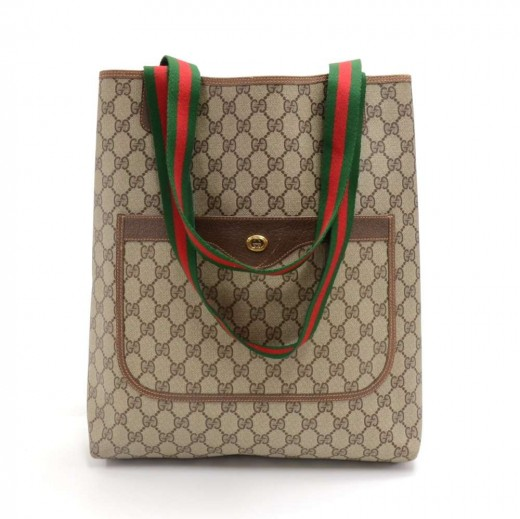 89bae5903c1 Gucci Vintage Gucci Accessory Collection Ophidia GG Supreme Monogram ...