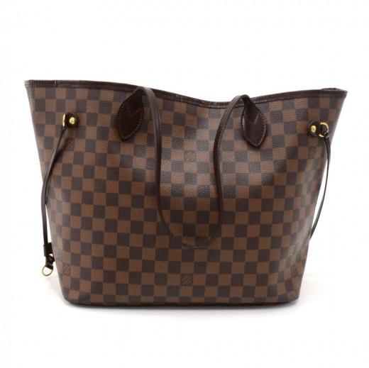 Louis Vuitton Louis Vuitton Neverfull MM Ebene Damier Canvas ... 553505586fce2