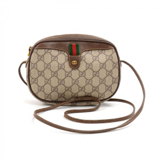 f6bf7dbcef2c Gucci Gucci GG Supreme Coated Canvas Mini Crossbody Bag
