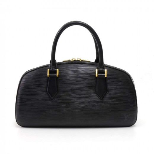 2c0165a759fa Louis Vuitton Vintage Louis Vuitton Jasmin Black Epi Leather Handbag
