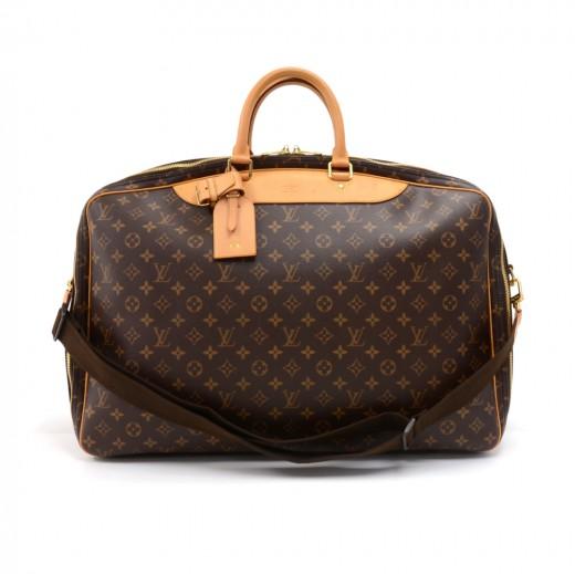 Louis Vuitton Louis Vuitton Alize 2 Poches Monogram Canvas Soft ... e3d61e298c0da