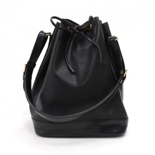 f679c8b19c5b Louis Vuitton Vintage Louis Vuitton Noe Large Black Epi Leather ...