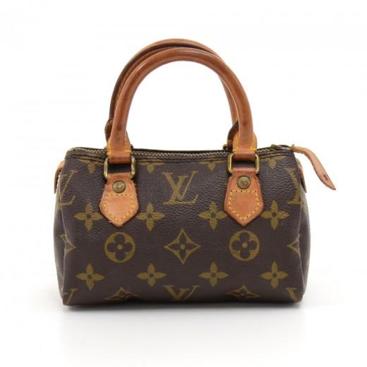 933709b0604f Louis Vuitton Vintage Louis Vuitton Mini Speedy Sac HL Monogram ...