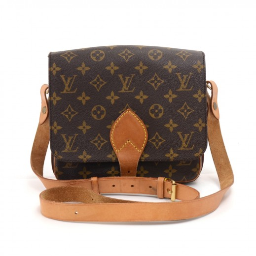 50646e2a92ed Louis Vuitton Vintage Louis Vuitton Cartouchiere MM Monogram Canvas ...
