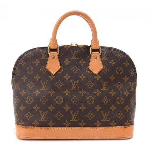 d78706c1c80 Louis Vuitton Vintage Louis Vuitton Alma Monogram Canvas Handbag