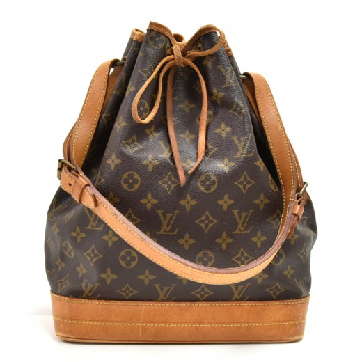 bdcbbb9def55 Louis Vuitton Vintage Louis Vuitton Noe Large Monogram Canvas ...