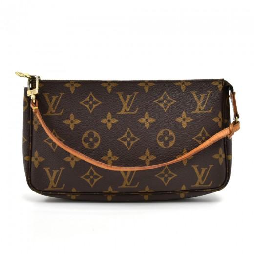 698a82350597 Louis Vuitton Vintage Louis Vuitton Pochette Accessoires Monogram ...