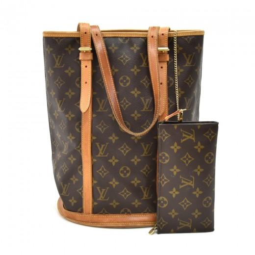 7c3bcfb4f1df Louis Vuitton Louis Vuitton Bucket GM Monogram Canvas Shoulder Bag