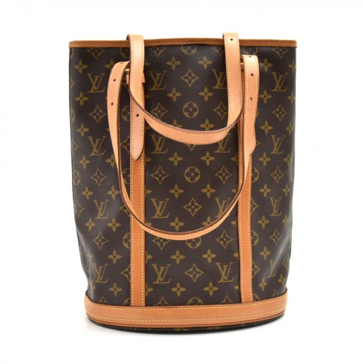 d9365e5f7b36 Louis Vuitton Louis Vuitton Bucket GM Monogram Canvas Shoulder Bag